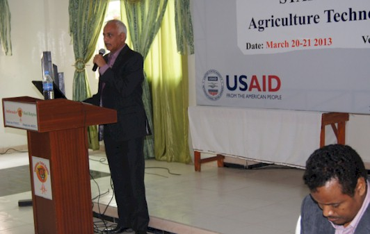 Stakeholders Workshop: Agricultural Technology Testing and Transfer Hargeisa March 20-21 2013